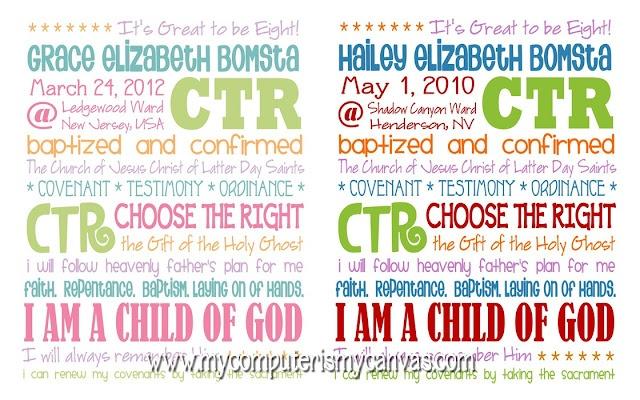Cute Baptism Memory!
