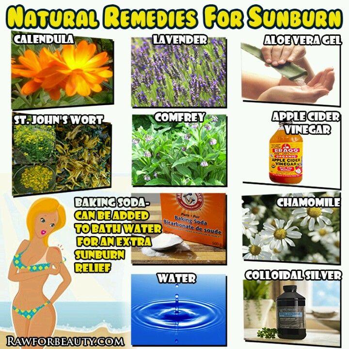 Natural Remedies To Sunburn