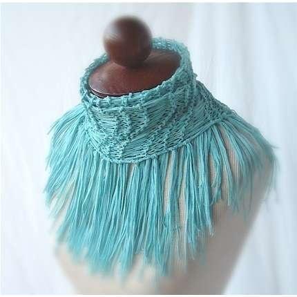 Interesting scarf.