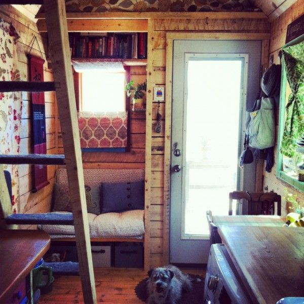 Handbuilt Tiny Home with Loft  Outdoor Space