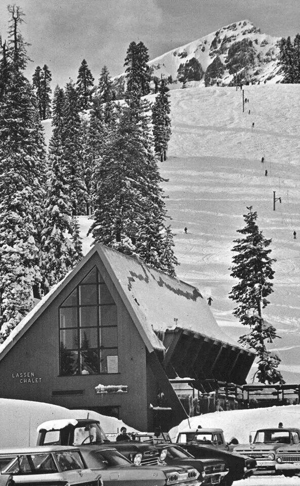 Lessen Chalet Ski Area 1970 | Old pictures around Susanville area | P ...