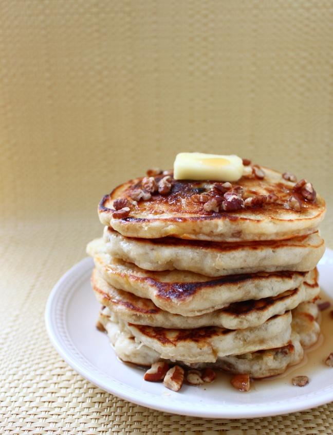 Banana nut pancakes | Yummy yummy, food in my tummy! | Pinterest