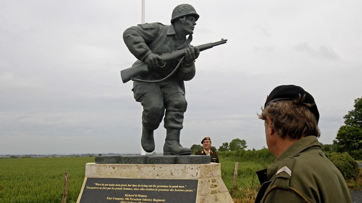 'Band of Brothers' honoured on D-Day anniversary