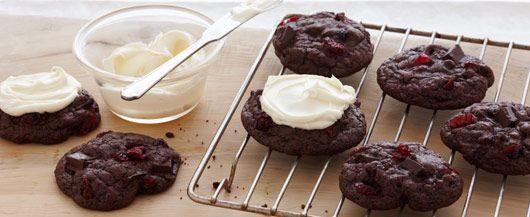 Black Forest Cookies. On Halloween it is better to eat some black ...