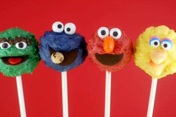 DIY Tutorial: Sesame Street Cake Pops   Awesome Cake Decorating Ideas ...