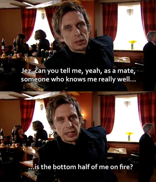 super hans peep show quotes