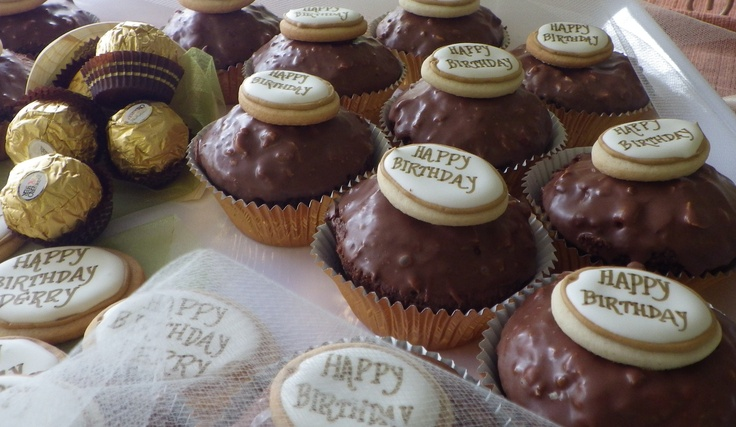 Rocher Cupcakes: Rich Chocolate Cupcakes with Hazelnut | Reci