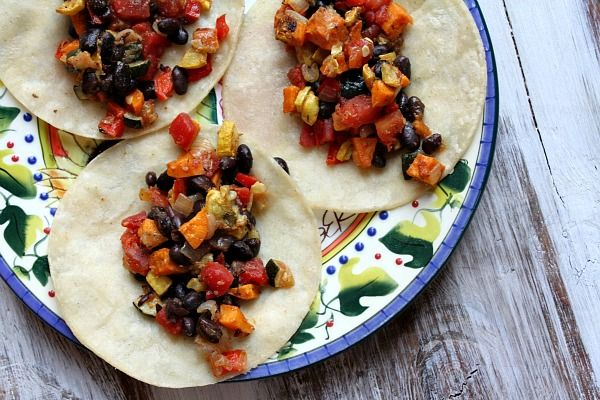and Black Bean Tacos (I wouldn't fry the taco shell or add cheese ...