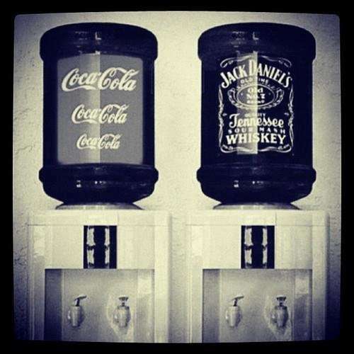 Jack Daniel's water cooler | Make me smile, giggle and maybe even sno ...