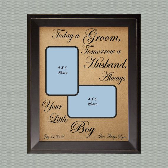 Personalized Wedding Picture Frames For Parents : ... Personalized Picture Frame / Wedding Gift for Parents / Custom Wedding
