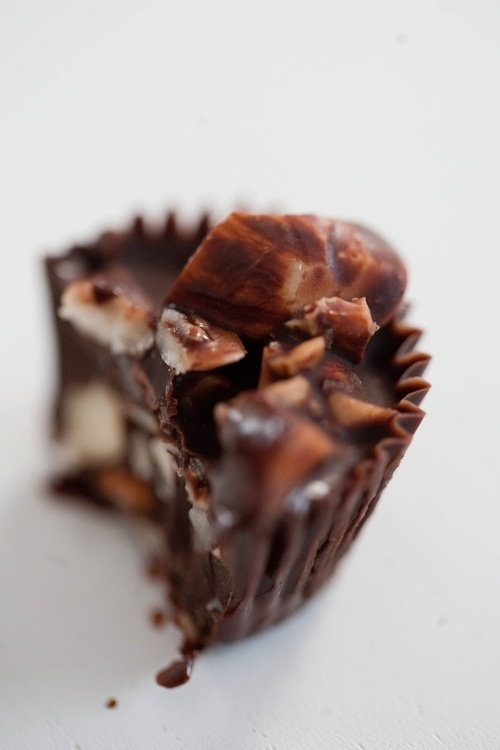 Chocolate, Almond And Hazelnut Toffee Recipe — Dishmaps