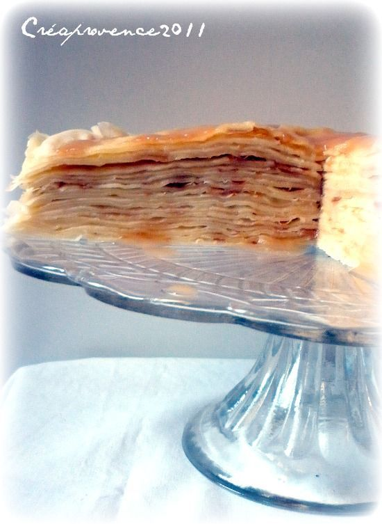 crepe cake with apple butter and caramel | Favorite Recipes | Pintere ...