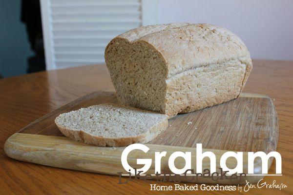 Oatmeal Wheat Bread Recipe on Graham Like the Cracker by Jen Graham