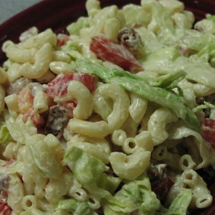Weight Watchers BLT Pasta Salad   Weight Watchers   Pinterest