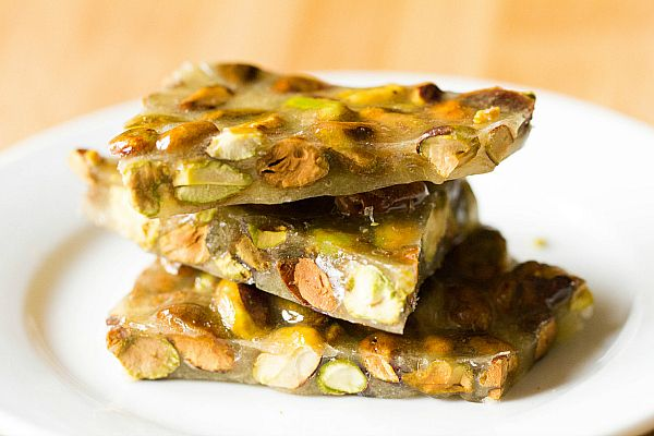 Pistachio Brittle Recipe by Brown Eyed Baker
