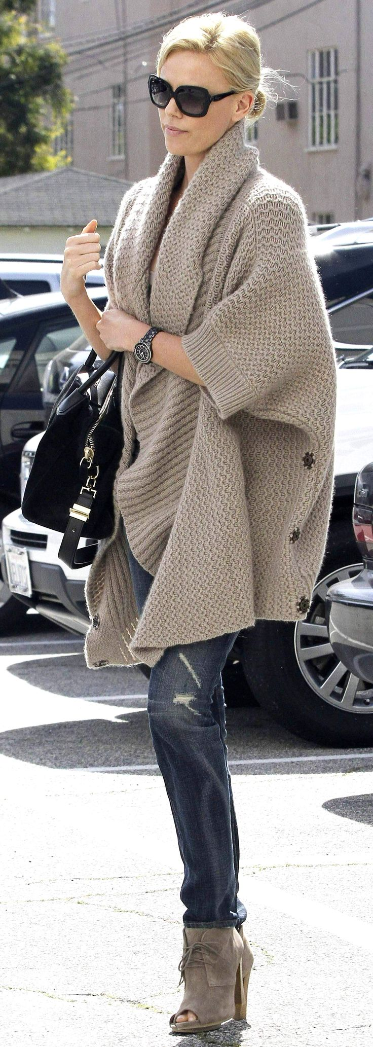 """For some time, wraps, ponchos, etc. have become my selection about any """"real"""" coat.  Have you noticed wearing coats hurts your shoulders?  Maybe it's just me.  :)   Would like some beautiful faux fur jackets or 3/4 length coats.  Dennis Basso sure makes some pretty ones~"""