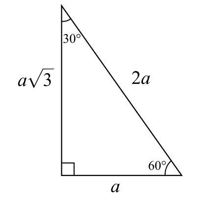 30-60-90 Triangle | Logic geometry principals pattern | Pinterest