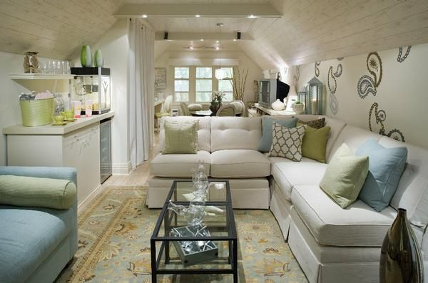 Dreamy attic space