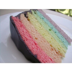 Pastel layer cake | Colorfull | Pinterest