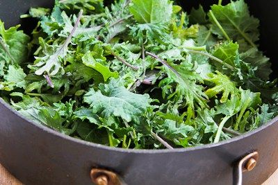 Kalyn's Kitchen®: Recipe for Baby Kale, Mozzarella, and Egg Bake (and ...