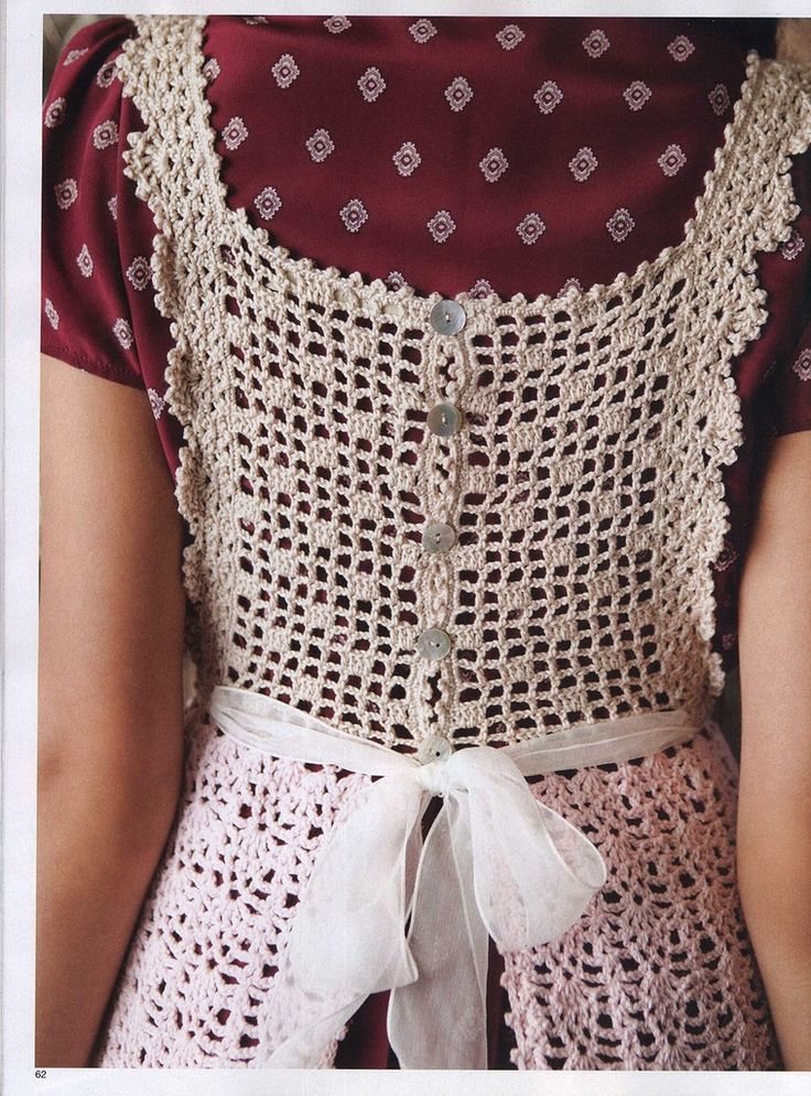 Crochet Patterns Vogue : Vogue-Crochet-Patterns Crochet pinafore. Think I need to get me a copy ...