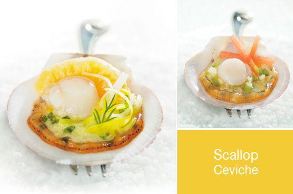 Scallop ceviche | Yummy stuff | Pinterest