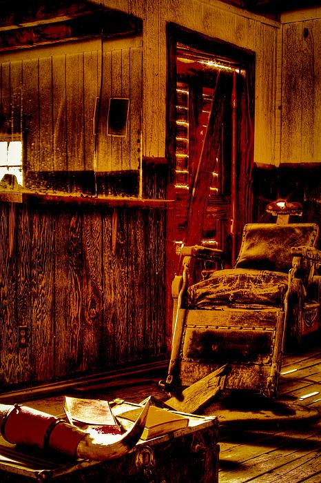 Barber Ranch : Old West Barber Shop at Bonnie Springs Ranch