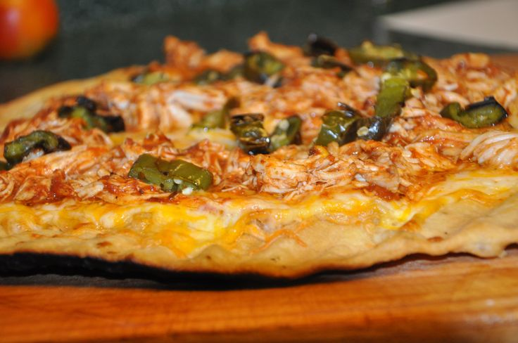 Grilled BBQ Chicken Pizza | Recipes to try | Pinterest