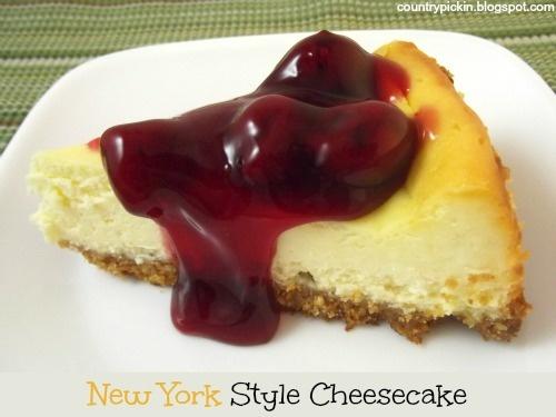 New York Style Cheesecake | Yummies | Pinterest