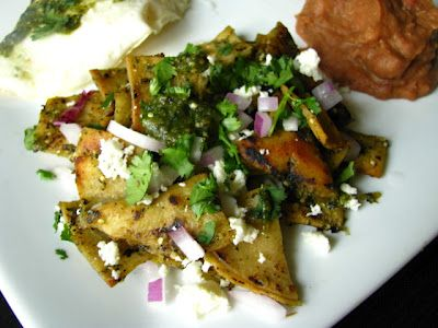 chilaquiles w/ roasted jalapeno & tomatillo salsa verde! a.k.a. my new ...