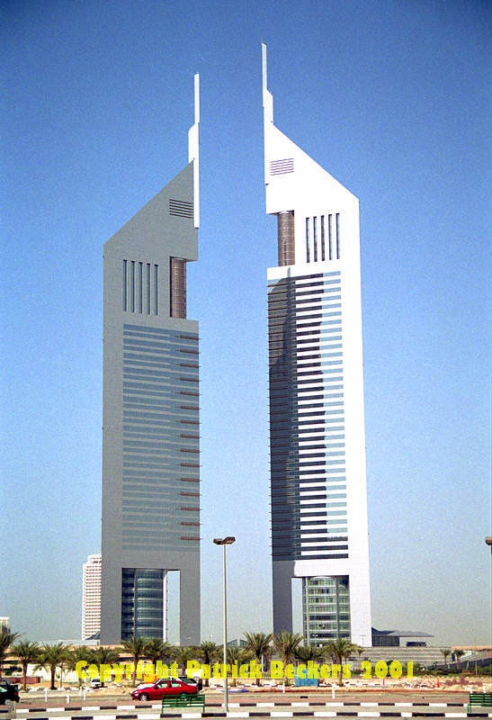 Emirates office tower dubai architecture modern post for Dubai architecture moderne