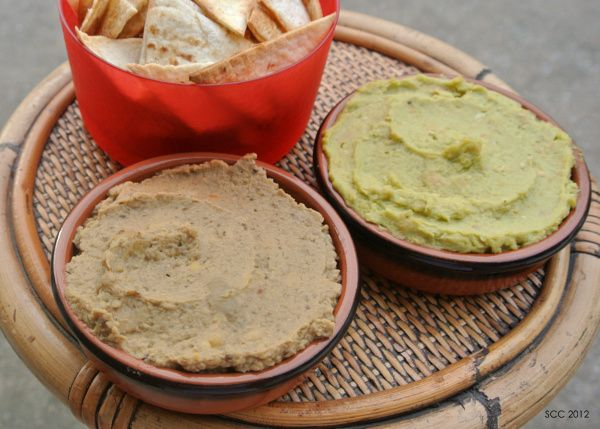 for 1 roasted eggplant hummus amp avocado hummus the smart cookie ...