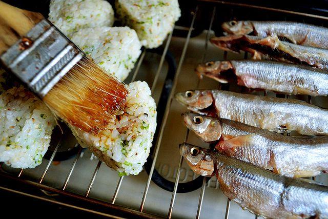 yaki onigiri | Tastes | Pinterest