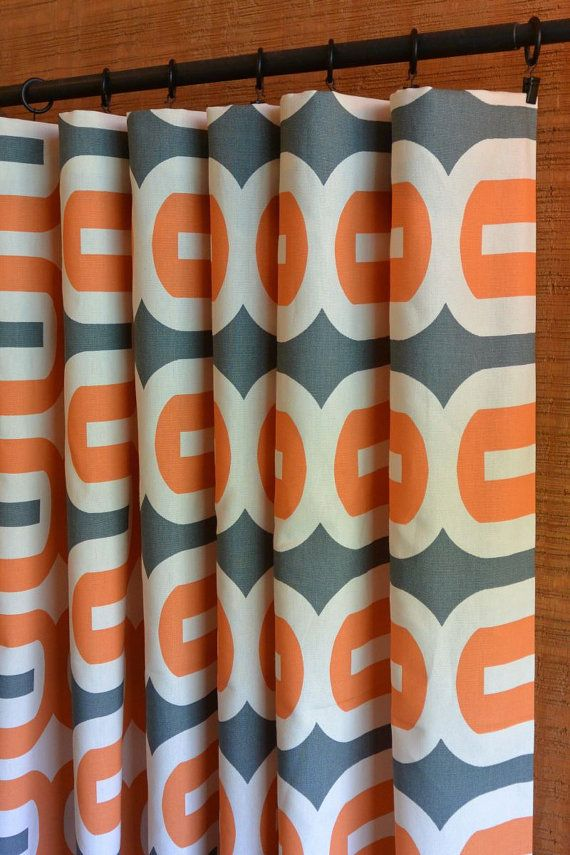 Ikea Ceiling Curtain Track Black and Orange Curtains