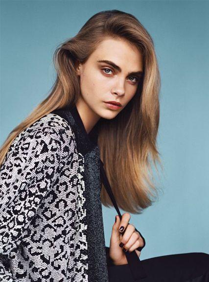 Cara Delevingne hair 2014
