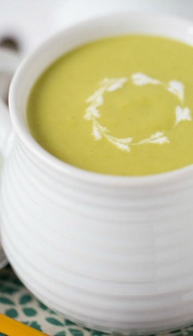 Chilled Creamy Asparagus Soup | Recipe