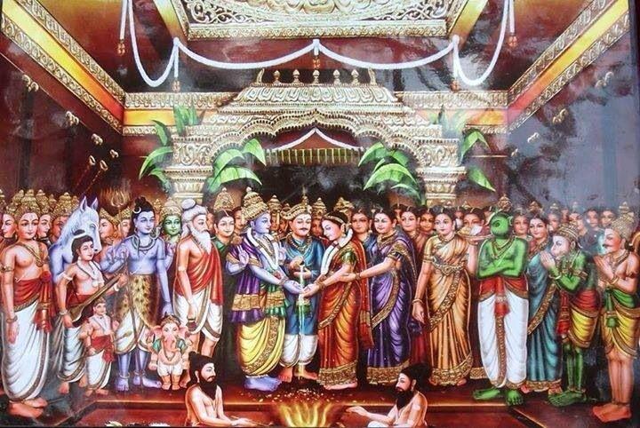 Lord vishnu marriage avan indri annuvum asaiadhu