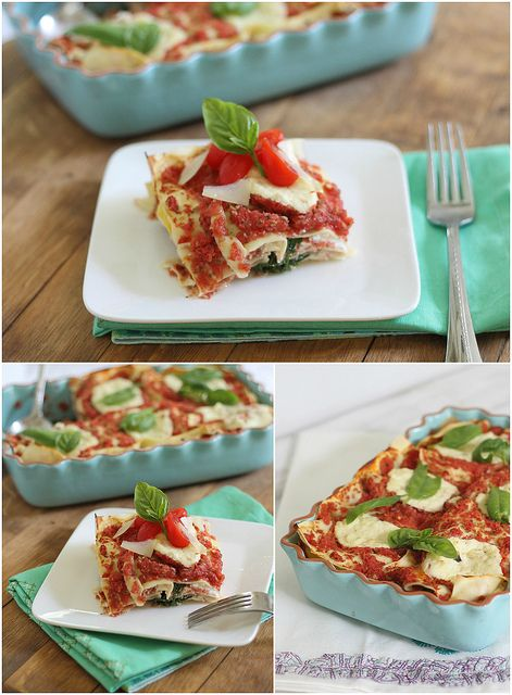 Simple Summer Lasagne/Running to the Kitchen