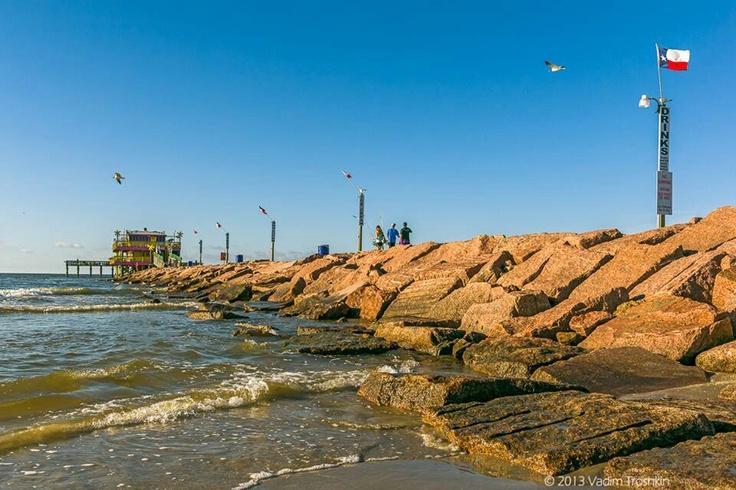 61st street fishing pier galveston texas galveston for Galveston pier fishing