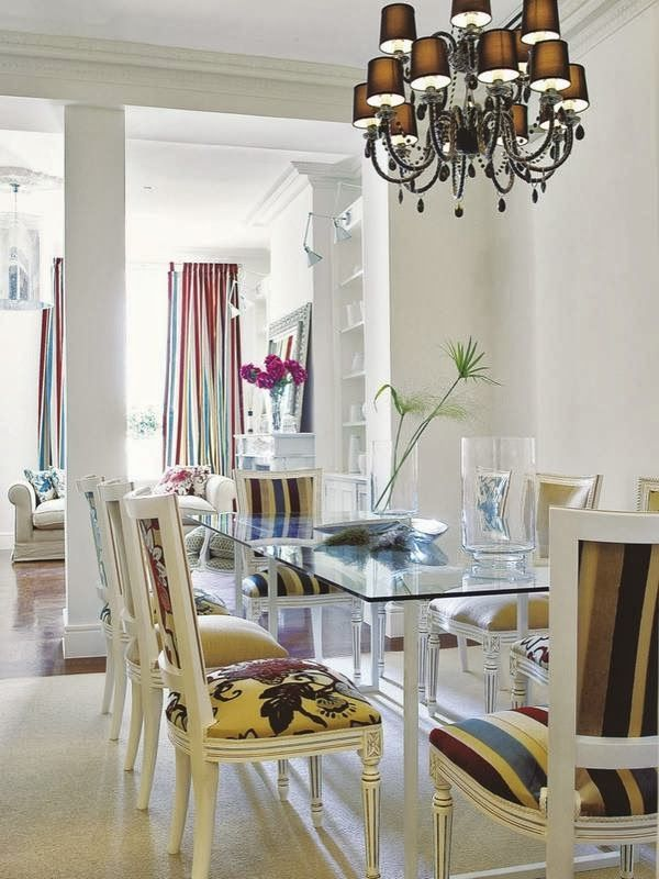 5 Salas de jantar cheias de ideias decorativas