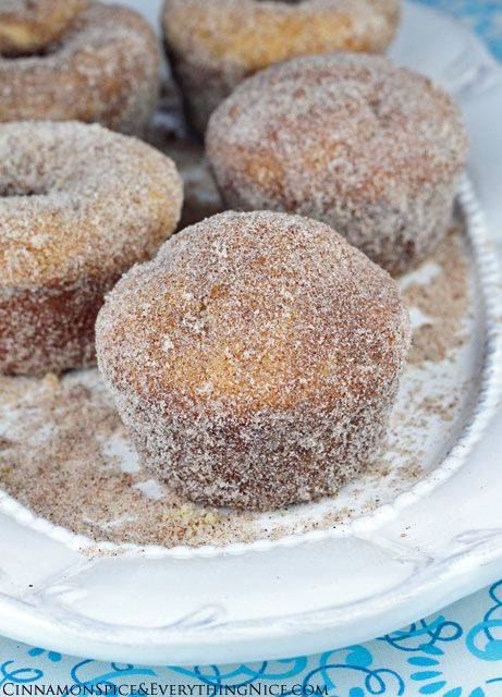 Cinnamon Sugar Doughnut Muffins | Recipe