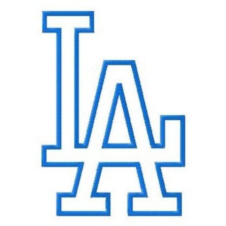 los angeles dodgers baseball la logo baseball logos