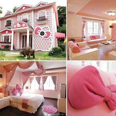 Hello Kitty House Home Pinterest