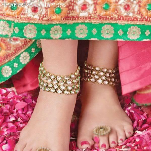 Indian Bridal Anklets