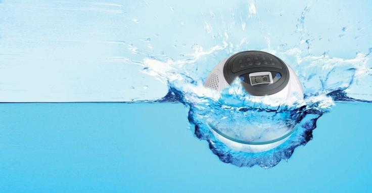Badkamer Raam Gordijnen ~ Speakerball v2  Waterdichte Speakers  Badkamer & Wellness