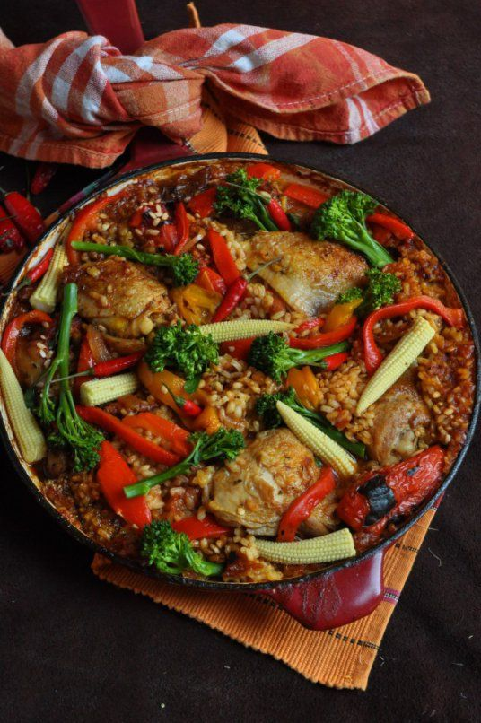 Spanish Chicken and Rice | Food, Glorious Food! | Pinterest