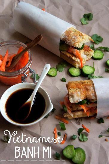 Vietnamese Banh Mi Sandwich | Food + Recipes | Pinterest