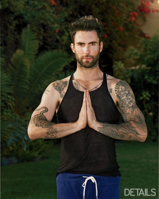 Adam Levine is pretty yummy :)