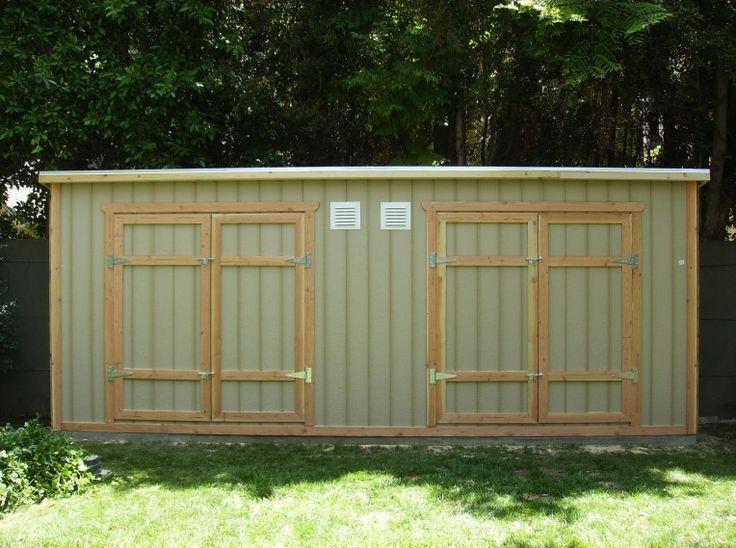 Side yard storage shed 3x20 yard pinterest for Side storage shed