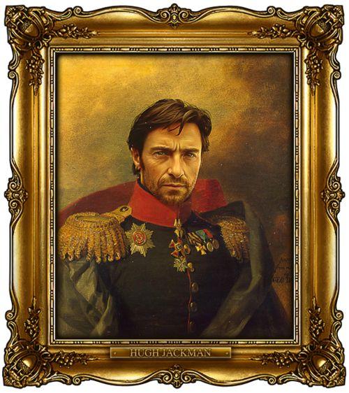 Pop russian general portrait project
